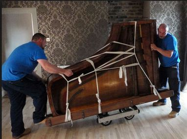 Plano piano tuning movers