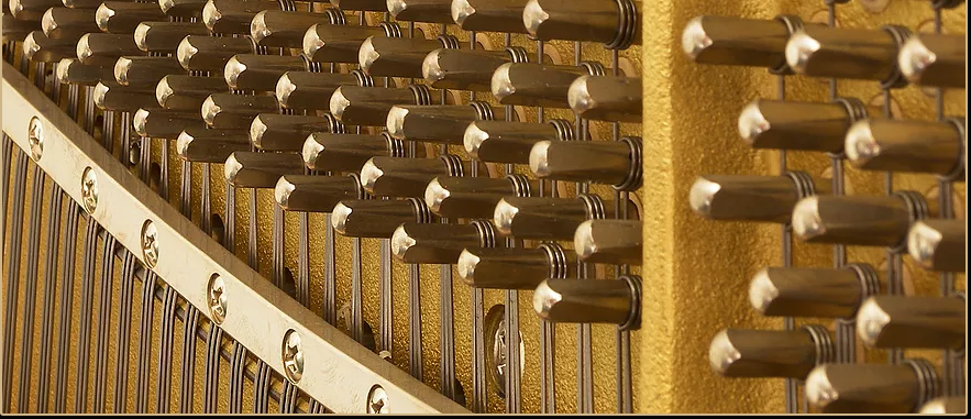 Piano tuning rods